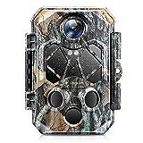 4K 32MP Caméra de Chasse: Cococam Caméra de Gibier 940nm IR LEDs de...
