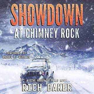 Page de couverture de Showdown at Chimney Rock: Sarah's Run