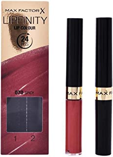 Max Factor Lipfinity Lipstick with Gloss , So Irresistible 338