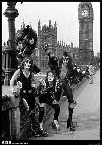 KISS Poster London 1976