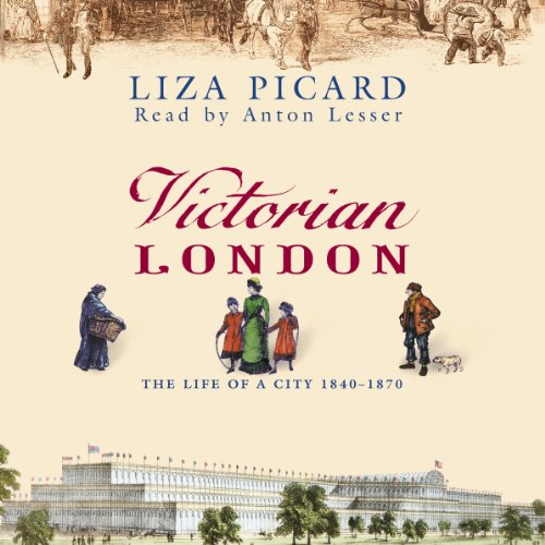 Victorian London audiobook cover art