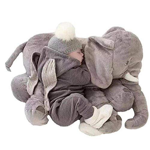 Almohada suave de elefante para niños, juguetes de elefante grande, animales de peluche, juguetes de peluche, muñeco de peluche para bebé, juguetes para niños
