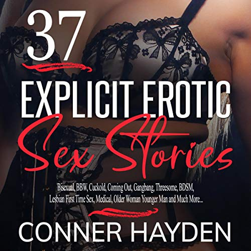37 Explicit Erotic Sex Stories audiobook cover art