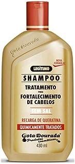 Gota Dourada Recarga de Queratina - Champú sin Sal - 430 ml