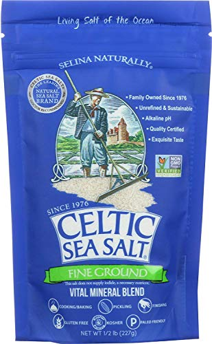 Celtic Sea Salt Fine Grnd Pou