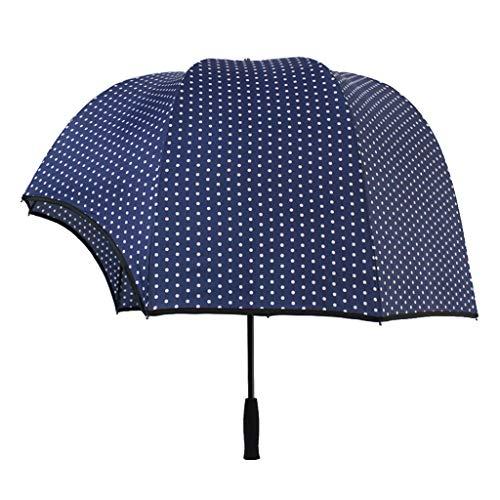 UYT - Paraguas plegable y fácil de transportar para bodas, uso diario