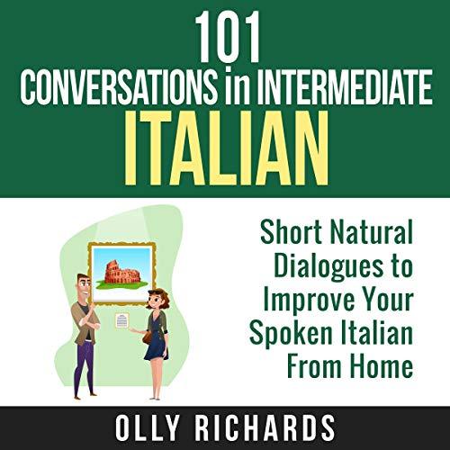Page de couverture de 101 Conversations in Intermediate Italian