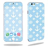 MightySkins Skin Compatible with Apple iPhone 6/6S Cell Phone 4.7' Cover wrap Sticker Skins Baby Blue Designer