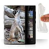 Hülle Für Microsoft Lumia 435 Wilde Tiere Erdmännchen