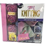シンプルな編み方 - 簡単な編み方を学ぶことができます。