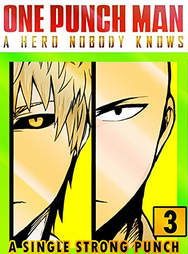 One Punch A Hero Strong: Collection 3 Funny Shonen Action Fantasy Manga Adventure Graphic Novel For Teens,Kids Children (English Edition)