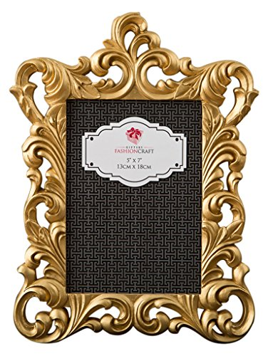 Fashioncraft Gold Metallic Baroque Frame 5x7 from Gifts