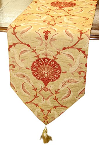 Your spouse is going to love this table runner as a decorative wool 7th anniversary gifts