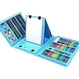 ZYL-YL Inicio 176 Combinación de los niños Cepillo de Aprendizaje de papelería Material de Bellas Artes Pintura Suministros Caja de Regalo Pluma de la Acuarela Conjunto Arte de los niños de Dibujo