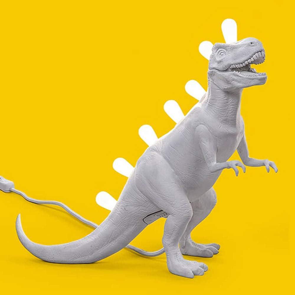 Seletti jurassic lamp rex, lampada da tavolo dinosauro,in resina 14783