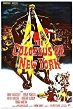 The Colossus of New York - 1958 - Movie Poster Magnet