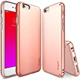 Ringke Slim Diseñó para Protectora Funda iPhone 6S Plus - Rose Gold