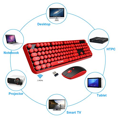 LETTON Wireless Keyboard Mouse Combo Product Image
