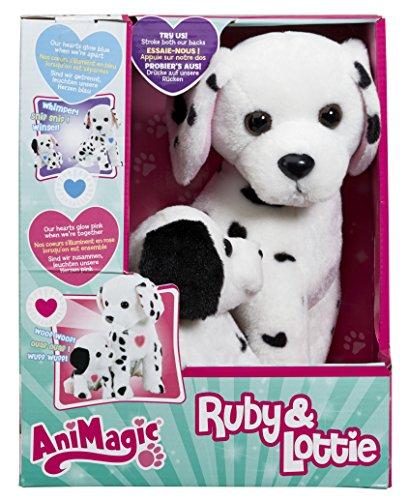 Animagic- Disney Ruby & Lottie, Color Blanco con Manchas (31189)