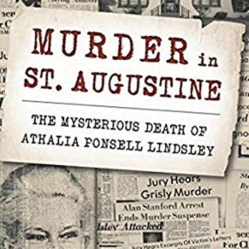 Murder in St. Augustine audiobook cover art