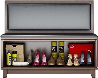 WUQIN Meuble à Chaussures résistant aux Cendres Banc à Chaussures Peu encombrant - 110 x 75 x 35 cm, Meuble de Rangement ...
