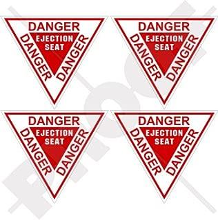 DANGER EJECTION SEAT USAF Martin Baker 2,4