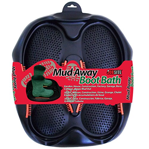 JOB SITE Mud Away Boot Bath, Multicolor, One Size, 54096