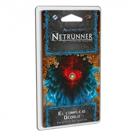 Fantasy Flight Games Android Netrunner LCG: The Dedalo Complex – Spanish...
