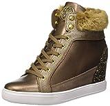 Guess Furr, Zapatillas Altas Mujer, Marrón (Bronz), 39 EU