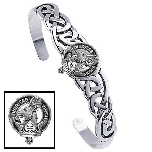 Keith Clan Celtic Cuff Bracelet