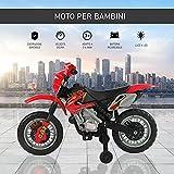 Zoom IMG-2 homcom moto cross elettrica con