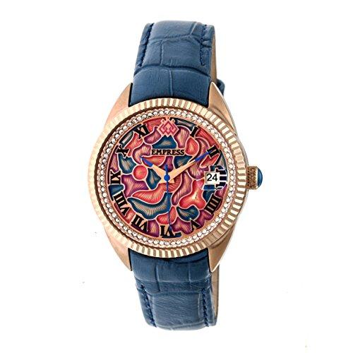 Empress Helena EMPEM1806 - Reloj de pulsera de piel, multicolor