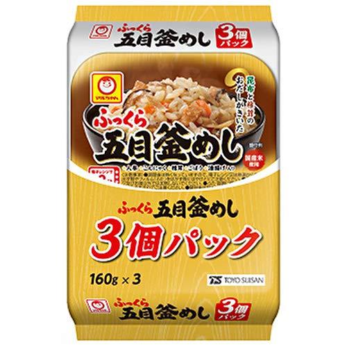 東洋水産 ふっくら 五目釜めし 3個パック (160g×3個)×8個入×(2ケース)