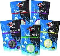 Shirataki Nudeln (Konjaknudeln) sind traditionelle asiatische Nudeln mit wenigen Kohlenhydraten Eine Alternative aus Konjakmehl zu normaler Pasta und Reis, ideal zum Abnehmen Konjaknudeln schlemmen, Appetit reduzieren und Heißhungerattacken vorbeugen...