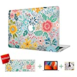MacBook Case Laptop Case Flower Forest Hard Shell Cover, Keyboard Cover, Screen Protector