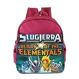 Slugterra Return Of The Elementals Kids School Backpack Bag