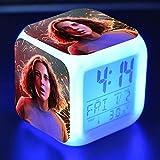 ZZTX Fashion Reloj Despertador para Dormitorio Infantil Relo