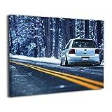 SkyDoor J パネル ポスターフレーム 車 かっこいい インテリア アートフレーム 額 モダン 壁掛けポスタ アート 壁アート 壁掛け絵画 装飾画 かべ飾り 50×40