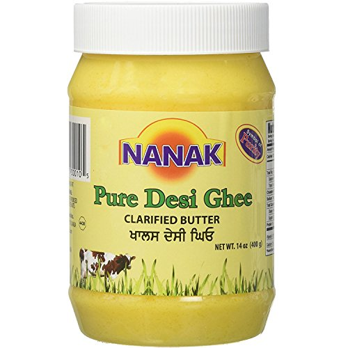 Pure Desi Ghee NANAK Natural No MSG 14 fl Oz