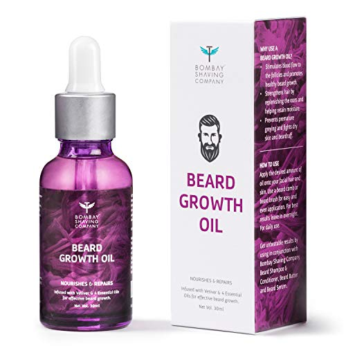 Bombay Shaving Company Beard Growth Oil For Men, 30 ml