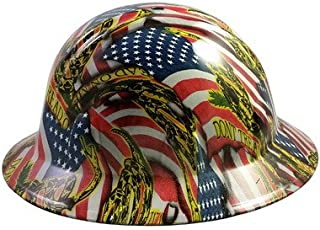 41cd22ead4e Texas America Safety Company Hydro Dipped Full Brim Style Hard Hat - Don t  Tread