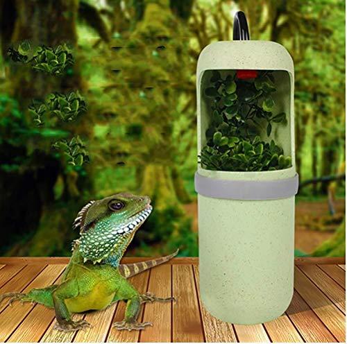 YAWJ Reptilien-Trinkbrunnen, simulierte Regenwald-Wassertropfen for das Reptil zur Bereitstellung von Trinkwasser und Feuchtigkeit (Color : A, Size : 7 * 21cm)