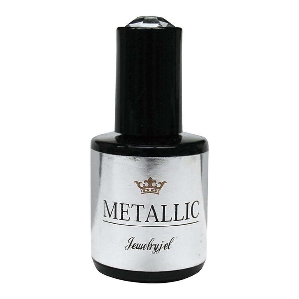 興奮健康どちらかジュエリージェル ジェルネイル メタリックカラージェル MT022 5ml   UV/LED対応 カラージェル ソークオフジェル