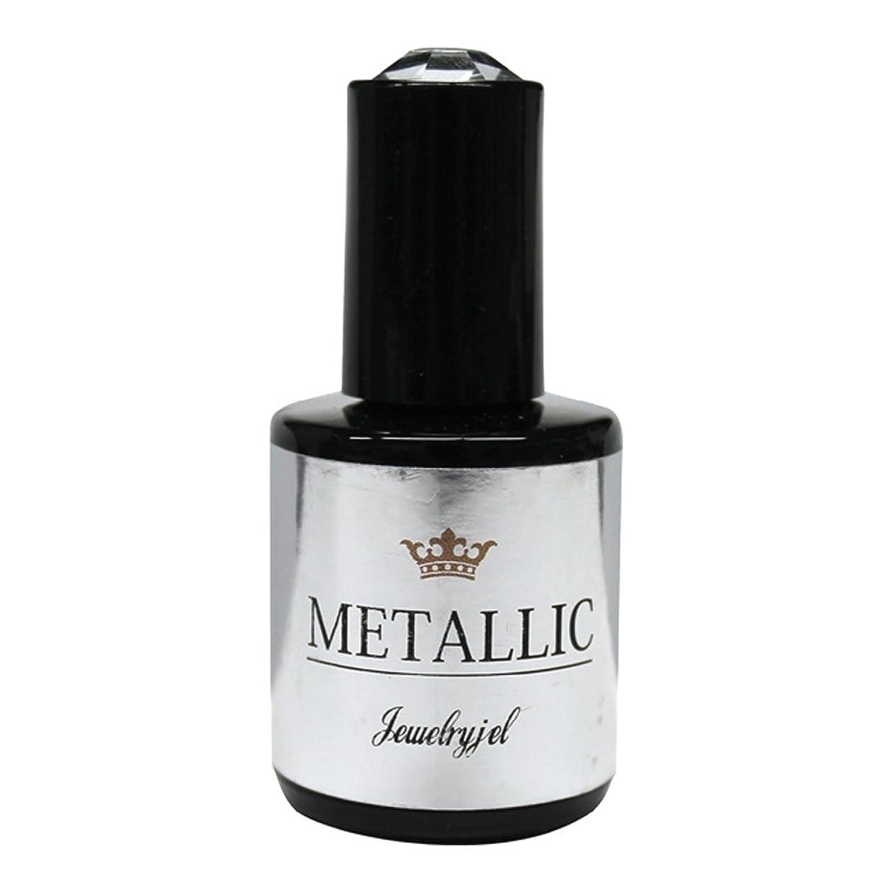 リフトうめき声すり減るジュエリージェル メタリックカラージェル MT026 5ml   UV/LED対応 カラージェル ソークオフジェル