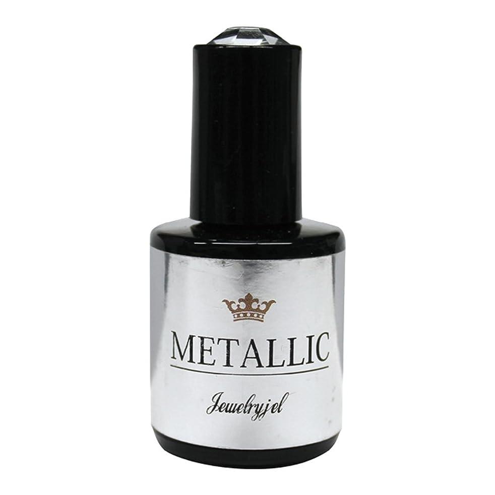 尋ねるポータブル奇妙なジュエリージェル ジェルネイル メタリックカラージェル MT022 5ml   UV/LED対応 カラージェル ソークオフジェル