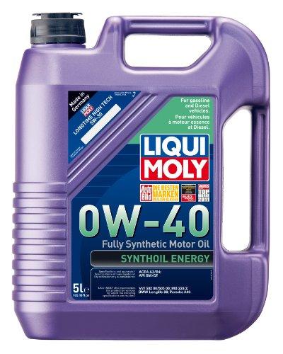 Liqui Moly 2050 Synthoil Energy 0W-40 Motor Oil - 5 Liter Jug