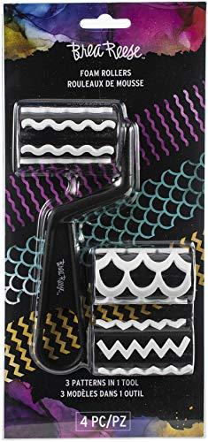 Momenta Brea Reese Foam Rollers 4/Pkg-3 Patterns