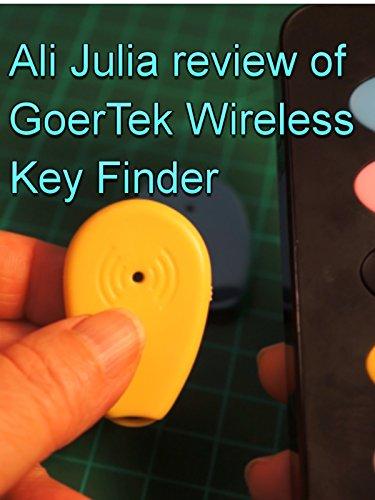 Review of GoerTek Wireless Key Finder by Ali Julia