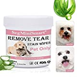 Best Eye Stain Remover For Dogs - SEGMINISMART Pet Eye Wipes, Pet Tear Stain Wipes Review