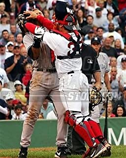 Jason Varitek Red Sox AROD brawl fenway Yankees 8x10 11x14 16x20 photo 094 Size 16x20